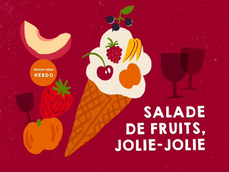 Choisir le vin pour une salade de fruits d'été. quel.vin