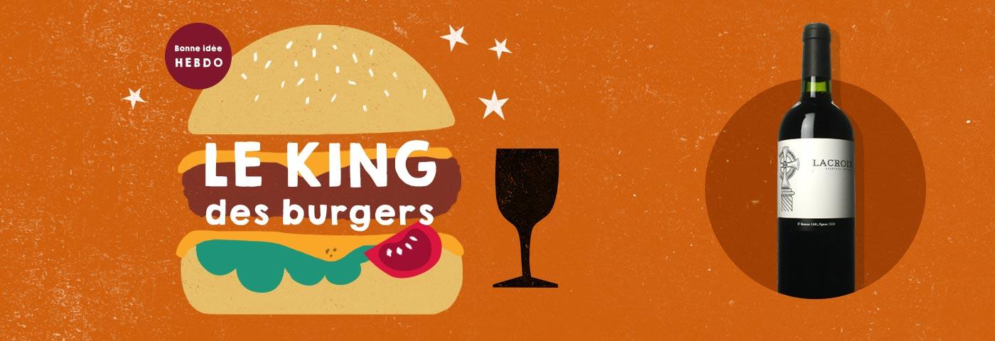 Quel vin avec un burger ?