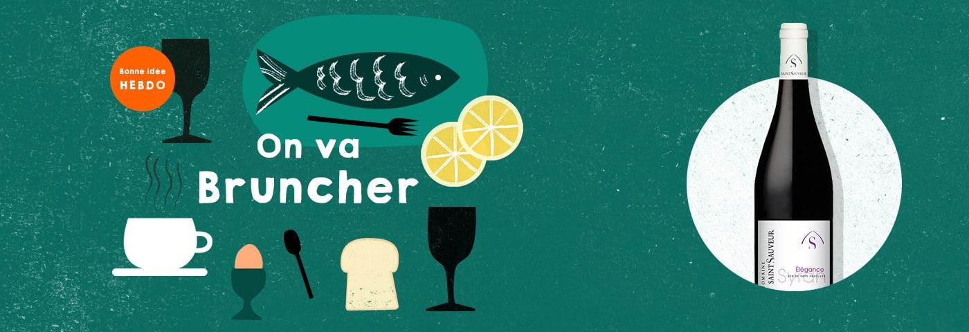 Choisir le vin pour un brunch avec quel.vin