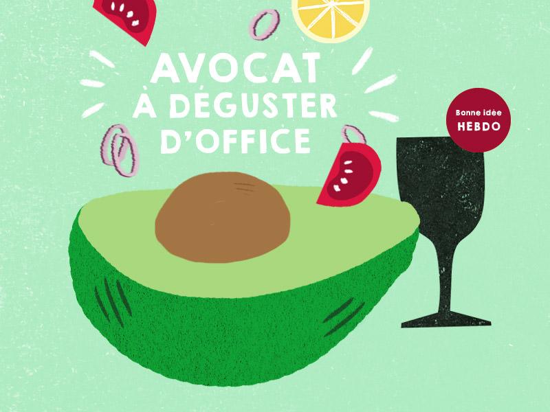 Choisir Le Vin Pour Déguster Un Avocat. Quel.vin