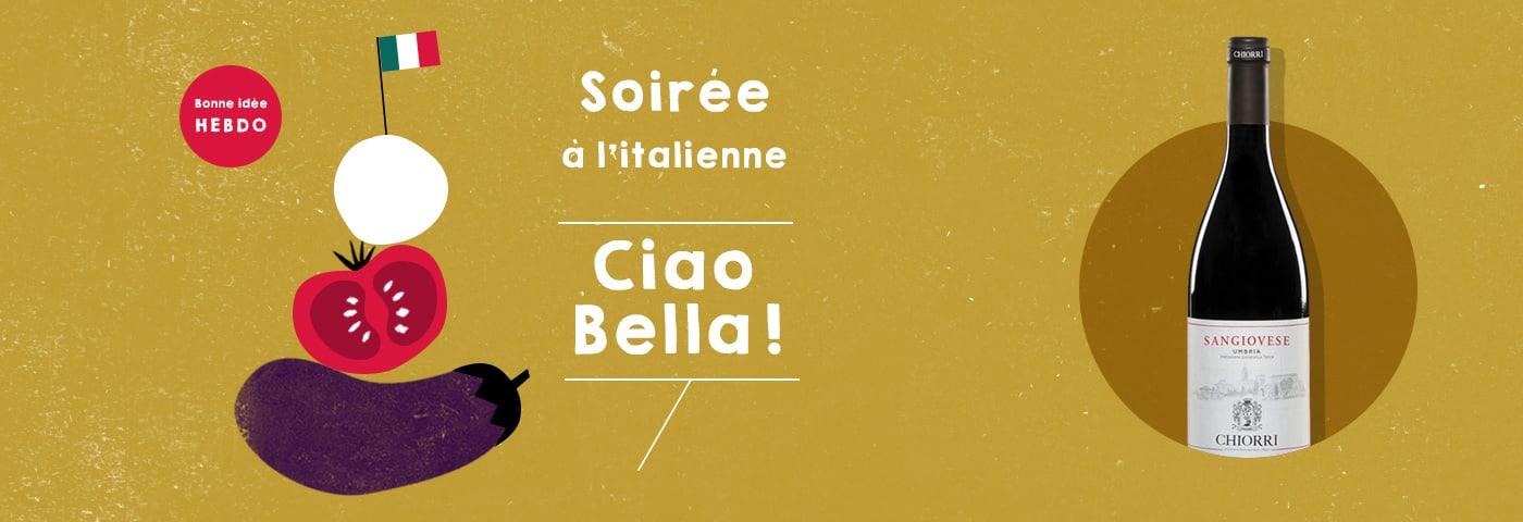 Choisir le vin pour une soirée à l'italienne avec quel.vin