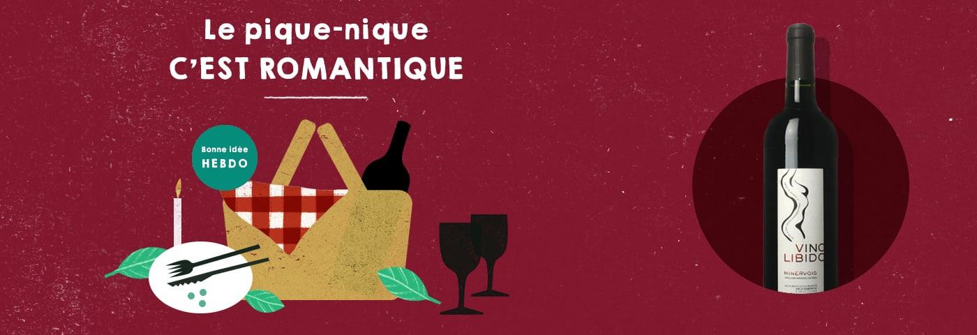 Choisir le vin pour un pique-nique romantique avec quel.vin