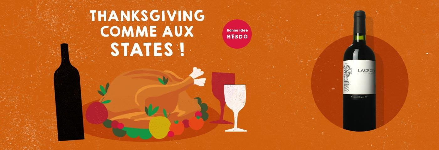 Choisir le vin pour la dinde de Thanksgiving. quel.vin