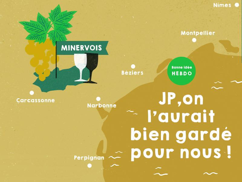 Choisir un des vins du Minervois de Jean-Philippe Charpentier. quel.vin