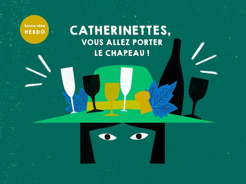 Choisir Le Vin Pour Une Soirée Catherinette. Quel.vin