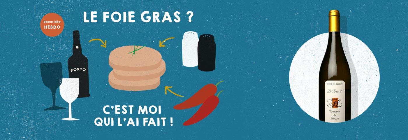 Choisir le vin pour le foie gras. quel.vin