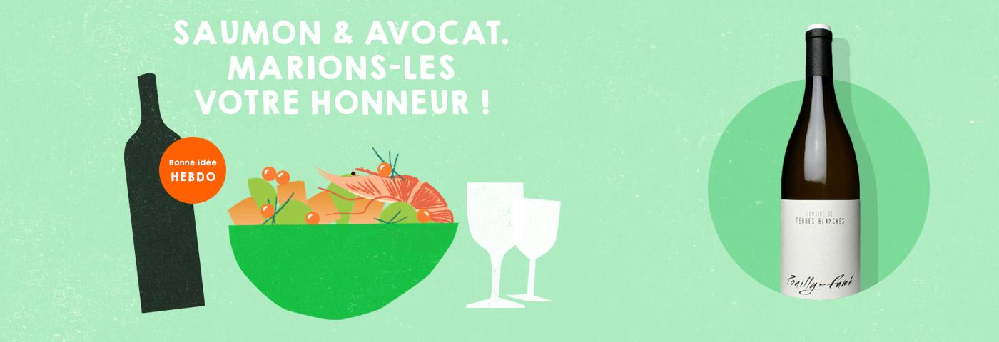 Choisir quel vin avec du saumon. quel.vin