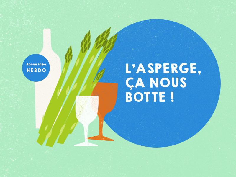 Vin avec asperges. quel.vin