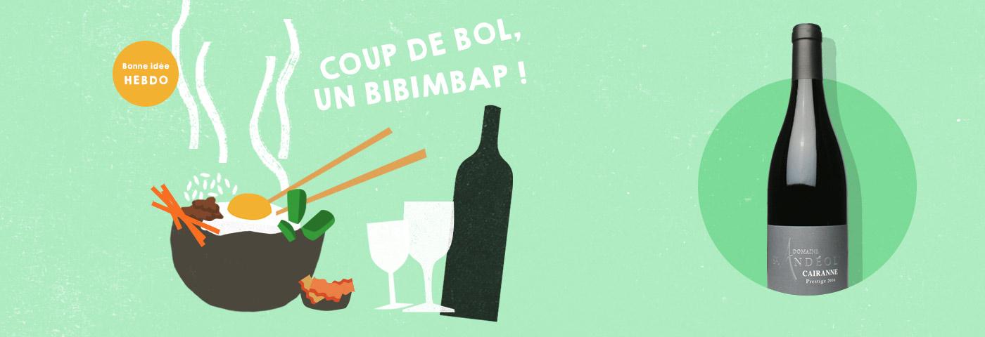 Choisir le vin pour un bibimbap. quel.vin