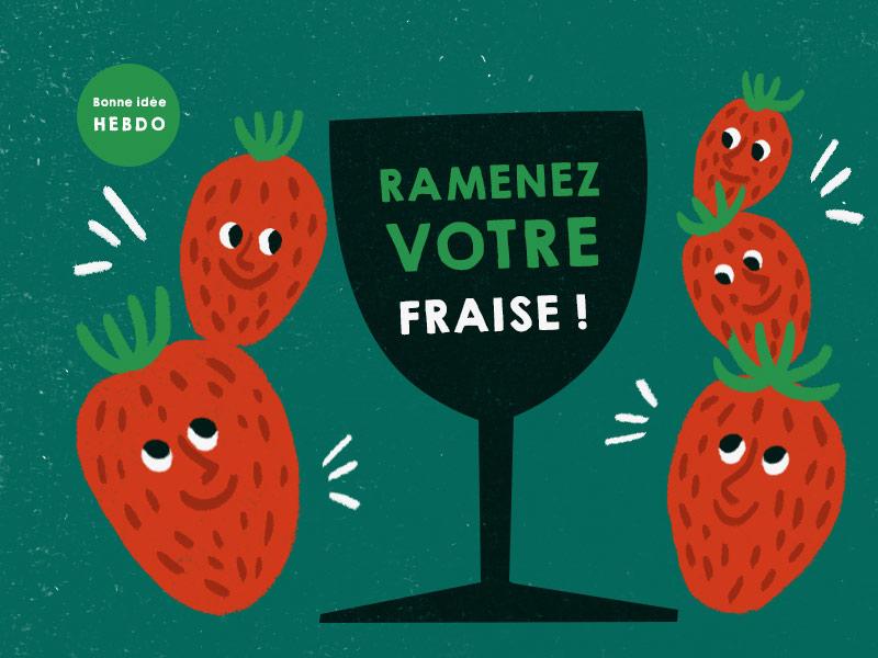 Accord Vin Fraises. Quel.vin