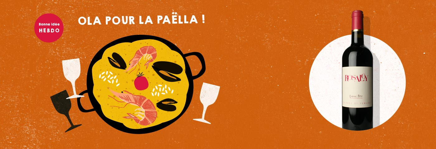 Quel vin pour la paella.