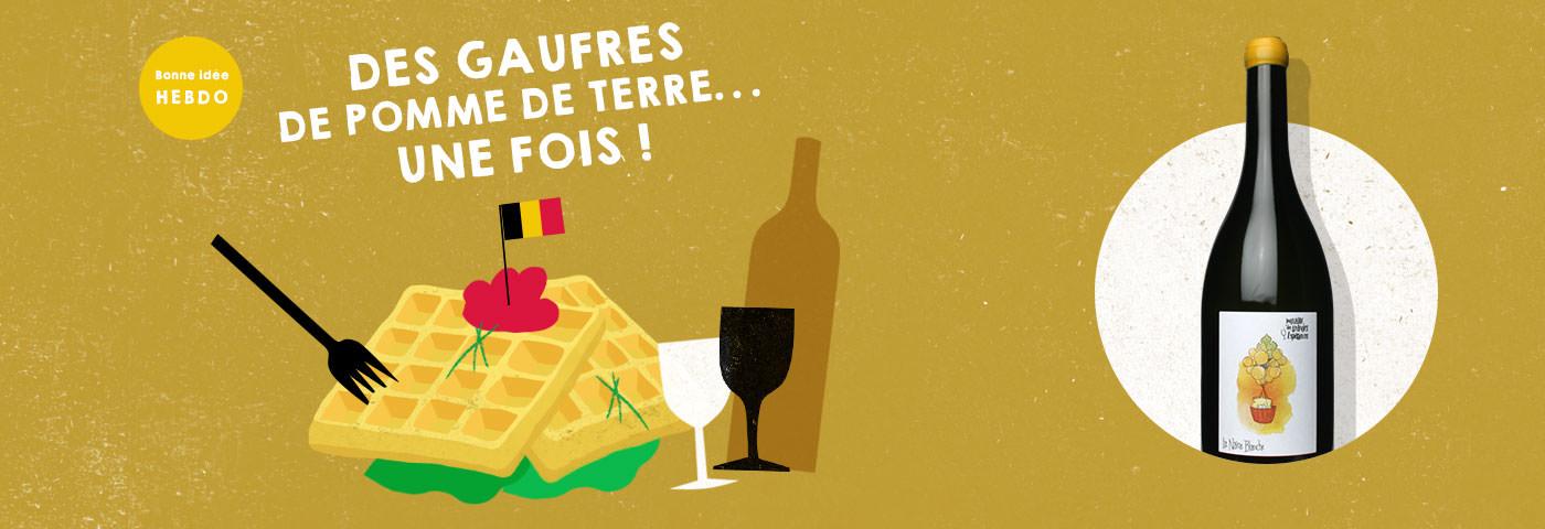Choisir le vin pour des gaufres de pomme de terre. quel.vin
