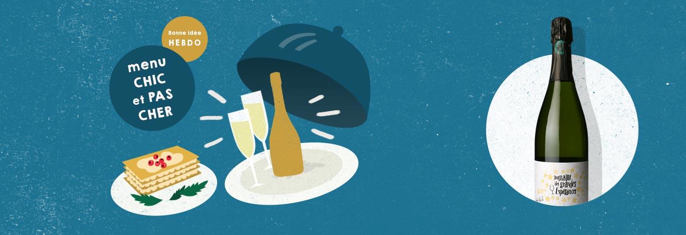 Choisir le vin avec un menu chic et pas cher avec quel.vin