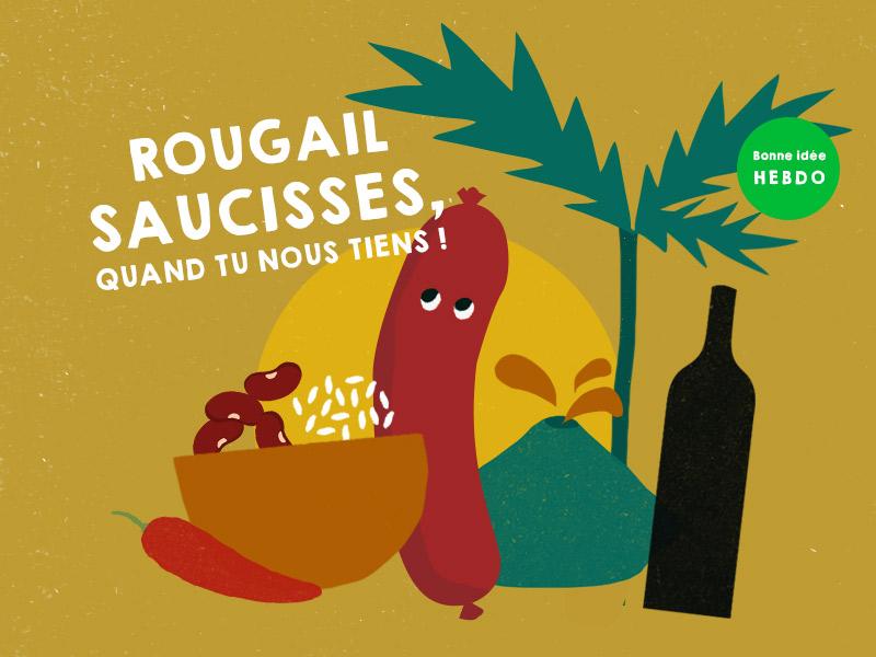Choisir le vin pour un rougail saucisse avec quel.vin