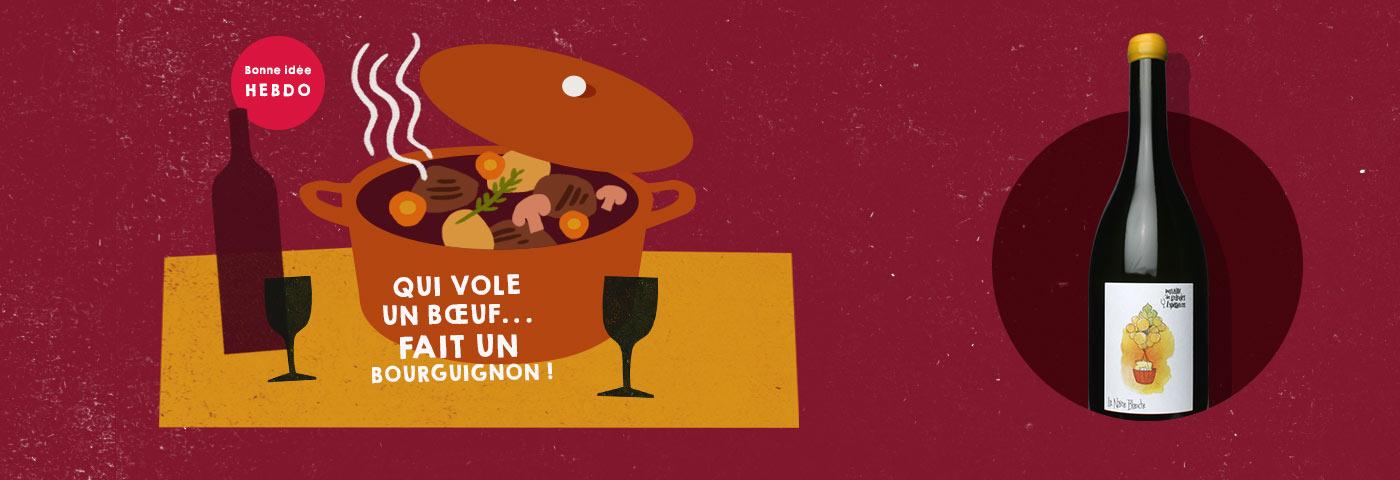 Choisir le vin pour un boeuf bourguignon avec quel.vin