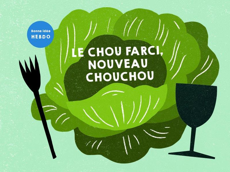 Choisir Le Vin Pour Le Chou Farci. Quel.vin