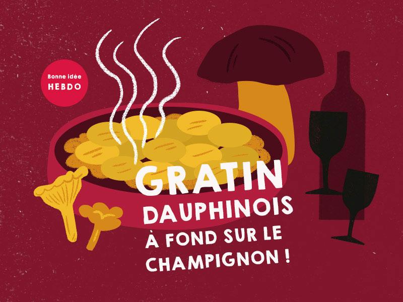 Choisir Le Vin Pour Un Gratin Dauphinois Aux Champignons. Quel.vin
