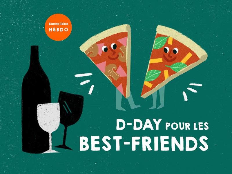 Choisir Le Vin Pour La Fête Des Meilleurs Amis. Quel.vin