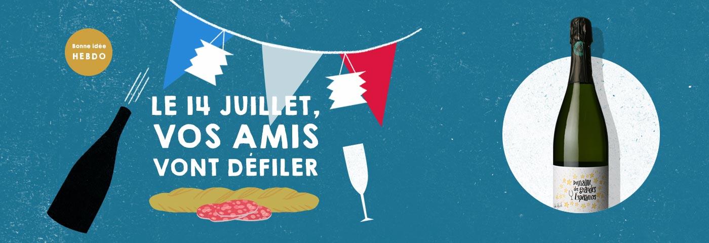 Choisir le vin pour la fête 14 juillet. quel.vin