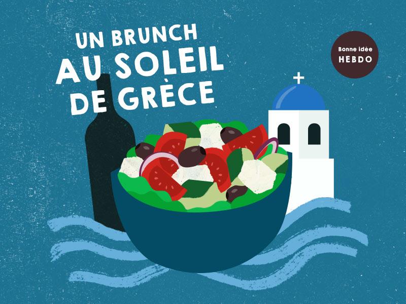 Choisir le vin pour un brunch grec. quel.vin
