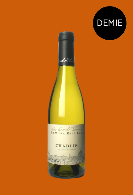 Billaud Chablis Les Grands Terroirs Demie 2015