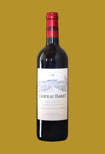 Château Baret Pessac Léognan rouge 2010. quel.vin