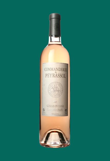 Commanderie de Peyrassol Côtes de Provence rosé 2015. quel.vin