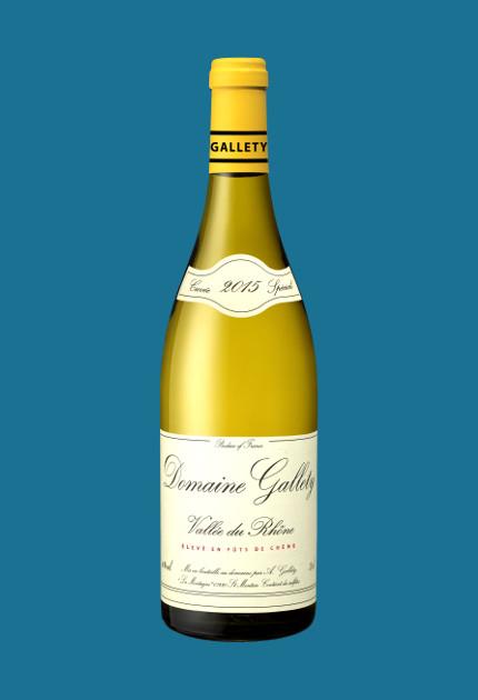 Domaine Gallety blanc vieilli en fût de chêne. quel.vin