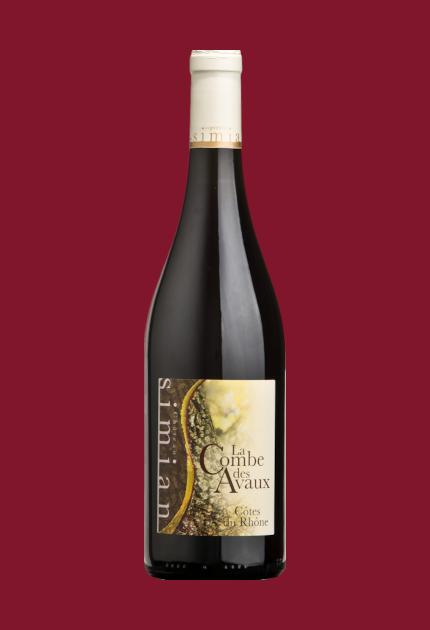 Simian Combe des Avaux Rouge Côtes du Rhône 2018 quel.vin