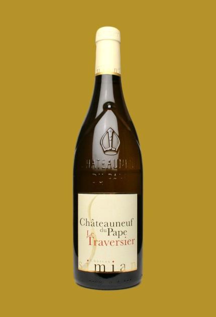 Simian le Traversier Blanc Châteauneuf du Pape 2018 quel.vin